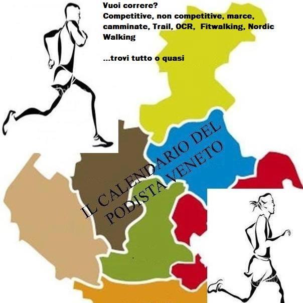 Calendario Marce Veneto.Running Team Mestre